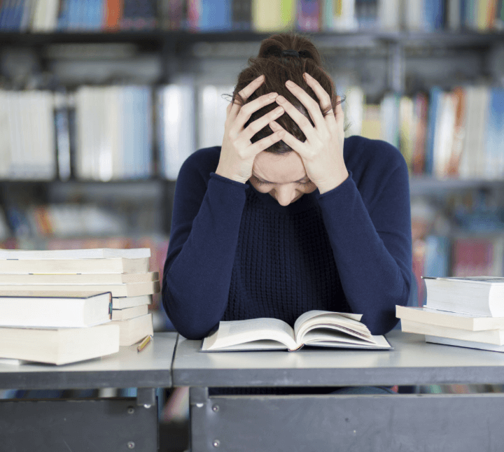 Stress and depression among the students during their academics
