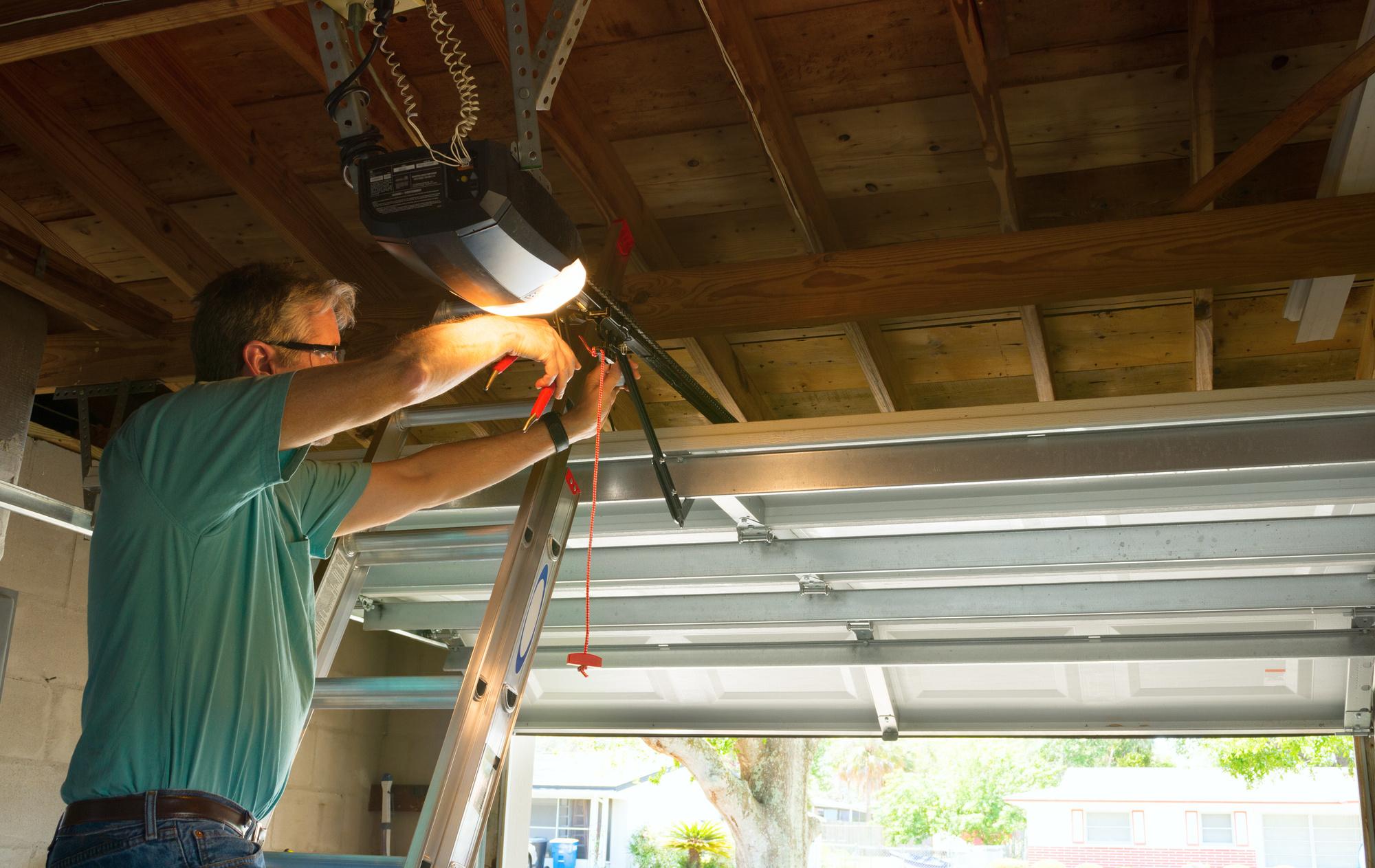DIY Garage Door Repair