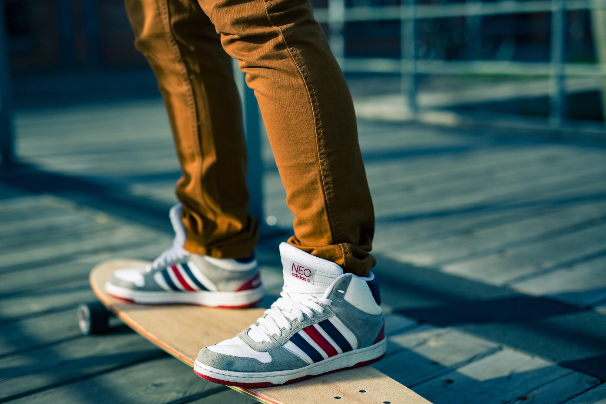 Sneakers for Skateboarding
